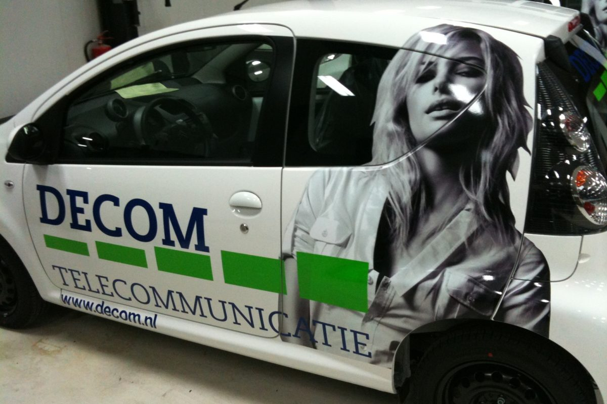 Decom Telecommunicatie - Signing Wagenpark
