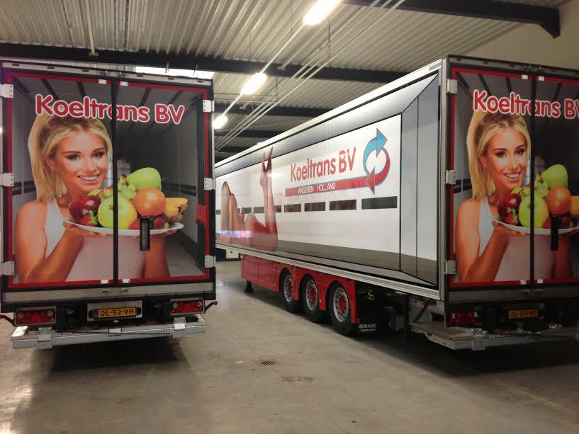 KoelTrans B.V. - Signing Trucks