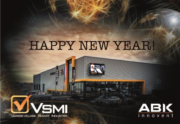 VSMI Nieuwjaarswens - Huisstijl Ontwikkeling