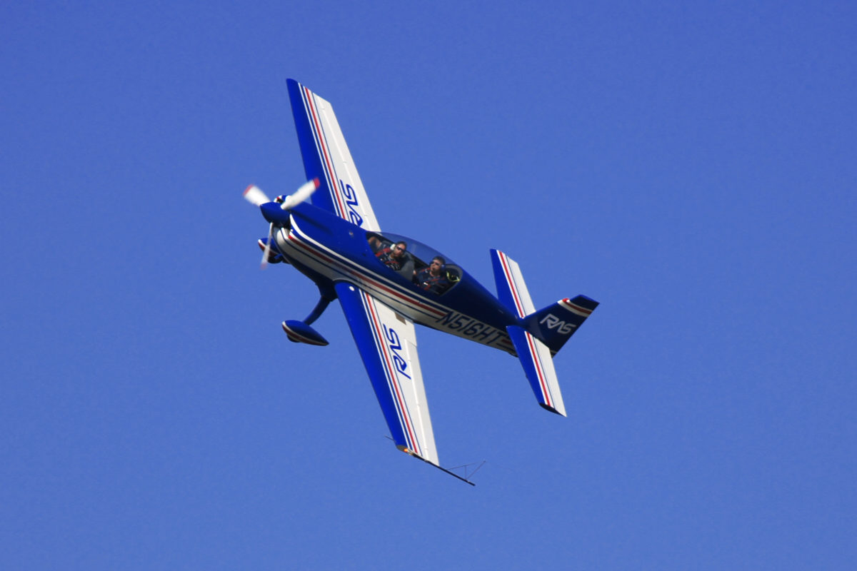 RAS - Signing vliegtuig
